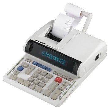 Sharp Two-Color Printing Calculator, Black/Red Print, 4.8 Lines/Sec (CS2850A)