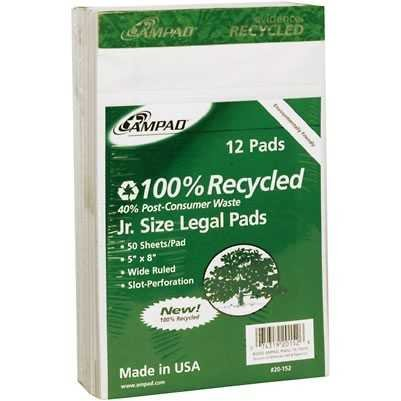 Bulk Recycled Perforated Clearance SALE Popular standard Limited time Pad 5