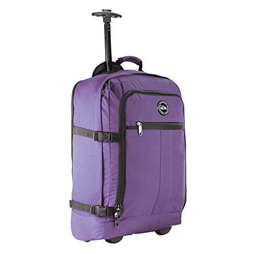Cabin Max Maleta con Ruedas, maletas de viaje cabina 55x40x20, Convertible en Mochila – Equipaje con Ruedas de 44 litros y 1,7 kg