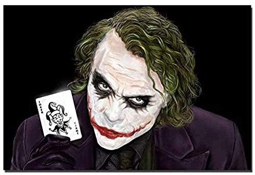 YYTTLL Puzzles Puzzles para Adultos, Puzzles De Madera De 1000 Piezas, Juguetes Educativos Difíciles para Adultos Regalos Creativos para Ni?os Y Ni?as- Joker Holding Poker