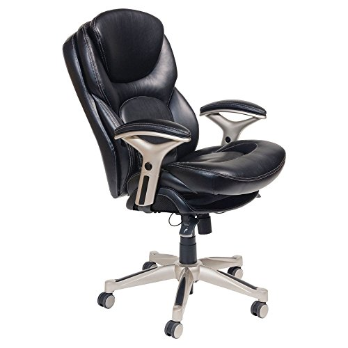 Serta Ergonomic Executive Office Motion Technology, Adjustable Mid Back Desk Chair with Lumbar...