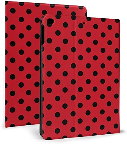 Red Black Polka Dot Case for iPad Air 2 Case Slim Stand Protective Case Smart Cover 9 7 product image