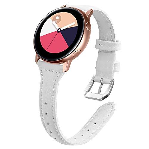 KIMILAR Pelle Cinturino Compatibile con Samsung Galaxy Active Active 2, Compatibile con Samsung Galaxy Watch 42mm, Compatibile con Garmin Vivoactive 3, Compatibile con Huawei Watch GT 2   Watch 2