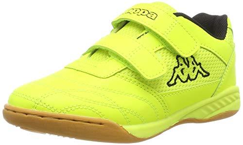 Kappa Unisex-Kinder Kickoff OC Kids Sneaker, 4011 Yellow/Black, 31 EU