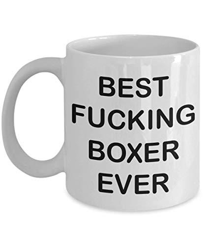 NA Divertente Boxer Tazza da caffè Il miglior Pugile del Cazzo di Sempre Boxer Regali Regalo per Boxer Uomo Donna