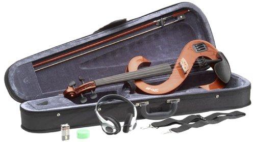 Stagg EVN 4/4 VBR – Set de violín eléctrico con HD