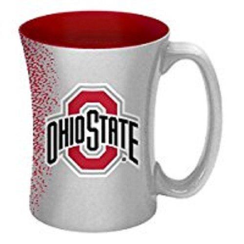 NCAA Ohio State Buckeyes Mocha Mug, 14-ounce
