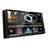 Kenwood DNX775RVS Advanced Navigation Multimedia Stereo, Receiver with Built-In Garmin GPS, Lane Assist and Accessible Route Finding for Trucks and RVs. 2-DIN Head Unit w/ Apple CarPlay & Android Auto