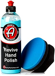 Adam's Revive Hand Car Polish 16oz - Adds Depth, Gloss and Clarity - Revive Your Finish by Hand (Combo)