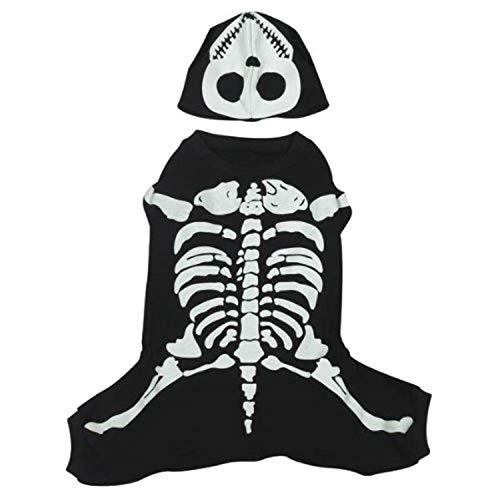 Animal Domestique EDG Glow Chiens Bones Costume
