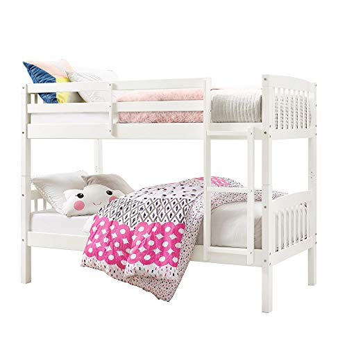 Max & Finn Twin over Twin Bunk Bed, White