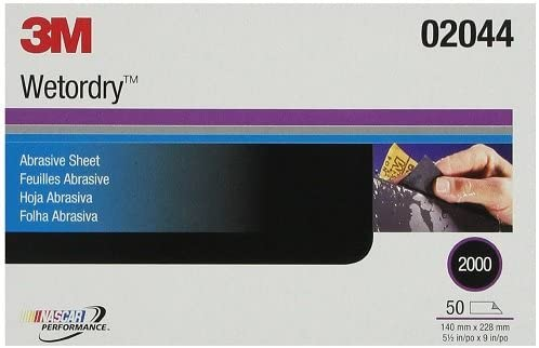 3M Wetordry Abrasive Sheet 401Q 02044 2000 1 in 9 2 x 5 ☆ very popular Choice