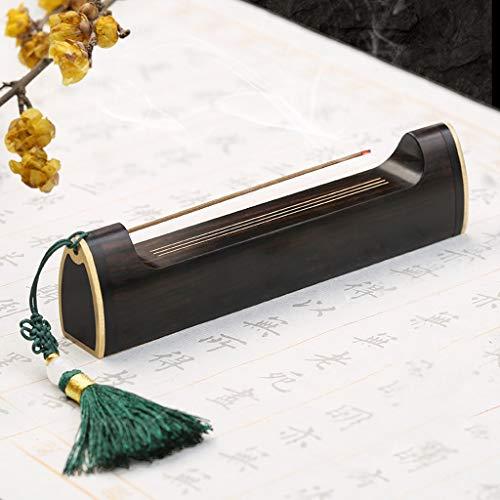 Quemador de incienso Bloqueo de cobre antiguo portátil de mentira incienso quemador de incienso de cobre Zen Productos Línea de la hornilla de incienso del sostenedor del hogar regalo de la decoración