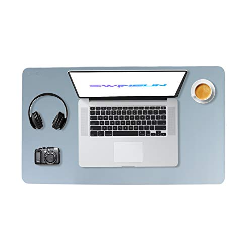 Ewinsun Gaming Alfombrilla de Ratón Mouse Pad Desk Pad Mouse Mat 60 * 35CM (azul claro)