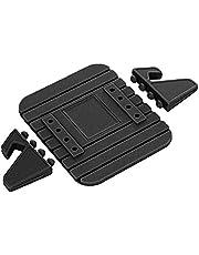 Uchwyt na telefon komórkowy Samochód Silikonowy Dash Pad Mat Anti Slip Phone Bracket Uchwyt na pulpit Dla telefonów 3 9x3 2x1 6 inch, czarny