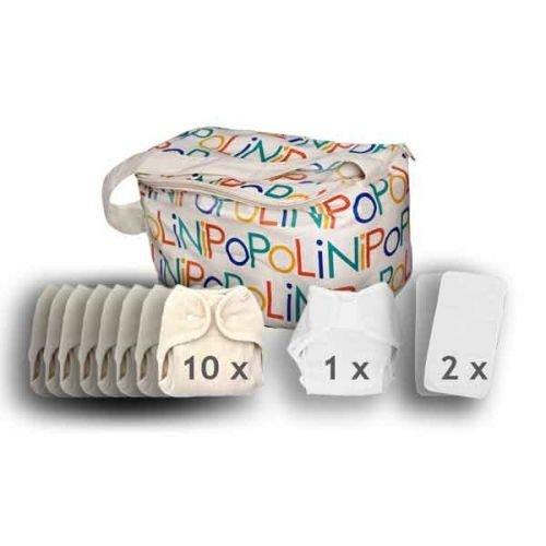 Popolini OneSize soft Set Windelset Windeln verschiedene Sorten Zusammenstellung 010102-12/02