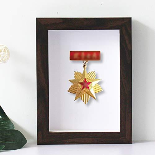 QLTY Medal Display Stand,Medal Display Frame,3D Deep Box Bilderrahmen für Marathon Medal Aufbewahrungsbox,3D Deep Picture Fotorahmen Display Memory Box für Display Medaillen