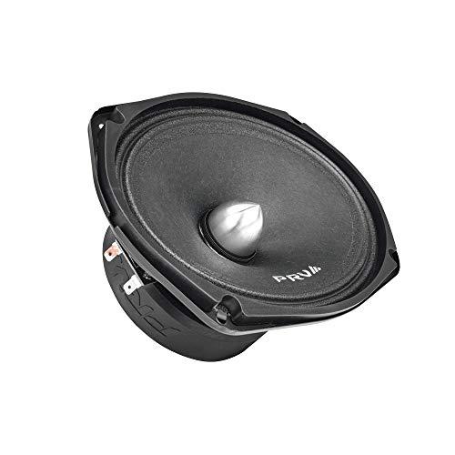 PRV AUDIO 69MR500-4 Bullet, 6x9 Inch Midrange Speaker 4 Ohms, 250 Watts RMS Power, 500 Watts Program Power, Loudspeaker for Pro Car Audio (Single)