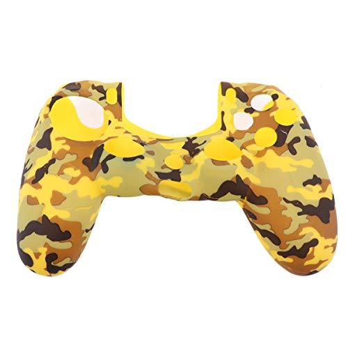 BESPORTBLE Schutzhülle aus Silikonkautschuk für Playstation 4 Controller (Camouflage Purple)