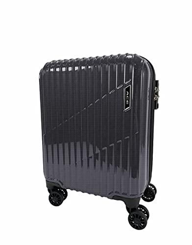 [エース] スーツケース クレスタ 機内持込可 20L 2.3kg 2~3泊 コインロッカーサイズ 06314 47 cm ブラックカーボン