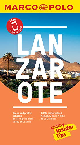 Lanzarote Marco Polo Pocket Travel Guide - with pull out map (Marco Polo Guide) [Idioma Inglés]