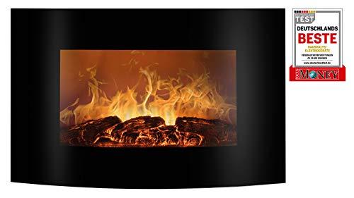 Bomann EK 6021 CB Elektrischer Kaminofen mit Flammensimulation und Heizlüfterfunktion,...
