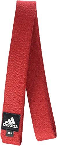 adidas ADIB240D Elite - Cinturón Acolchado de algodón Rojo Rojo Talla:300