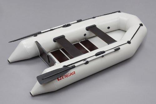 Bengar L-280 U opblaasbare rubberboot, grijs, Lotus 280 U, ideaal geschikt als visboot