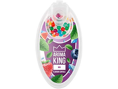 Aroma King Aromaperlen Click H/ülsen Kapseln Lemon, 1 1 Box 100er Set Kugeln All u need Flaschen/öffner Keyring + Surprise Clipper