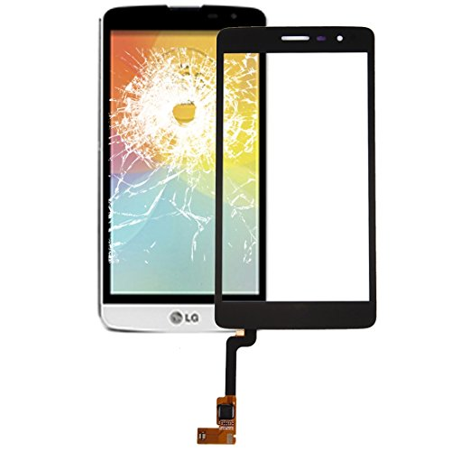 YANSHANG Repuestos para Smartphone Panel táctil for LG L Bello II / X150 (Negro) Partes de refacción (Color : Black)
