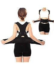 حزام دعم الظهر للعمود الفقري الكتف بواقي وضعية العلاج المغناطيسي للرجال والنساء