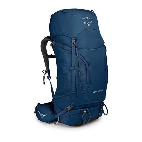 Osprey Kestrel 58 Trekkingrucksack für Männer - Loch Blue (M/L)