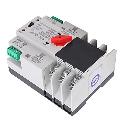 Shanrya Fuente de alimentación Doble ininterrumpida, Estructura compacta Duradera Control preciso Interruptor de alimentación Dual Aumenta la tasa de conversión para la fábrica