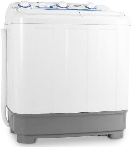 oneConcept DB004 - machine à laver, mini-machine à laver, lave-linge de camping, essoreuse, pour célibataires, étudia...
