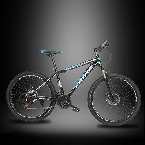 26 Zoll Damen Trekking- und City-E-Bike - E-Rounder schwarz matt - Elektro Fahrrad Damen - 21/27 Gang Shimano Deore Kettenschaltung - Pedelec mit Bosch Mittelmotor Active Line 350W,Blau,27 speed