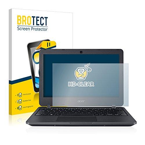 BROTECT Schutzfolie kompatibel mit Acer TravelMate B117 (2 Stück) klare Displayschutz-Folie