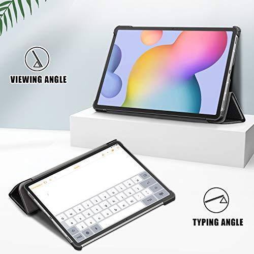 XTstore Hülle für Samsung Galaxy Tab S7 Tablet Standfunktion Slim PU Leder Smart Schutzhülle Cover Case Tasche Passt Samsung Galaxy Tab S7 (SM-T870/T875)