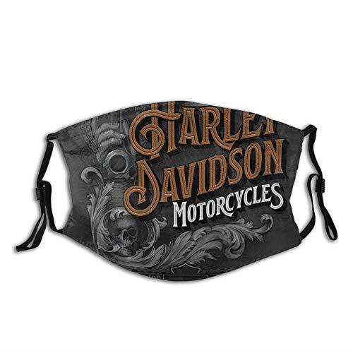 Harley Davidson 6 Confortevole Maschera Antivento Sci Maschera Cappello Collo Ghetta Copricapo Per Le Donne Uomini Con 2 Filtro