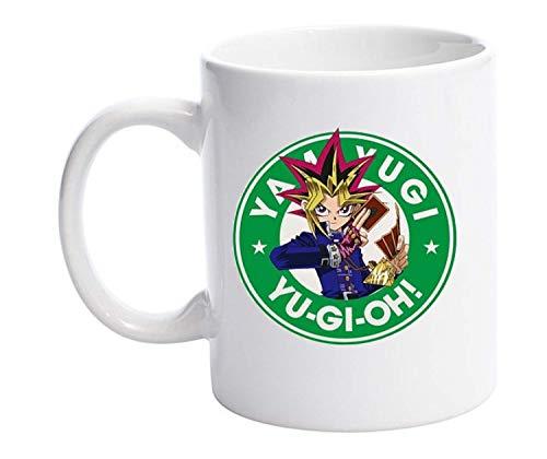 Yami Yugi Yu-Gi-Oh Starbucks Parodie 313 ml Tasse mit lustigem Anime-Design