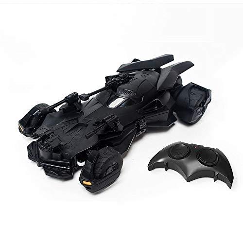 Ycco Radio recargables Liga de la Justicia Batman juguete de control remoto de coches 1:18 Batimóvil 2.4G RC Vehículo de Niños vehículo controlado Stunt Racing Electric presenta for las muchachas de l