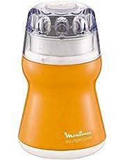 مطحنة قهوة من مولينكس بقوة 180 واط 220 فولت - AR110O27، بلون برتقالي، بلاستيك