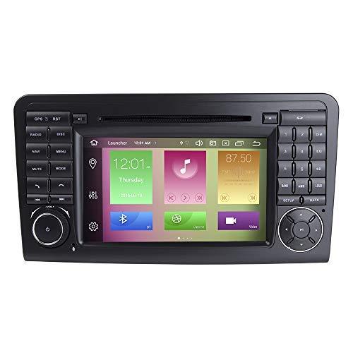 para Mercedes Benz GL ML Class W164 X164 ML350 ML450 ML500 GL320 GL450 Android 10.0 Octa Core 4GB RAM 64GB ROM 7' Radio del Coche Sistema GPS estéreo Reproductor Multimedia del Coche
