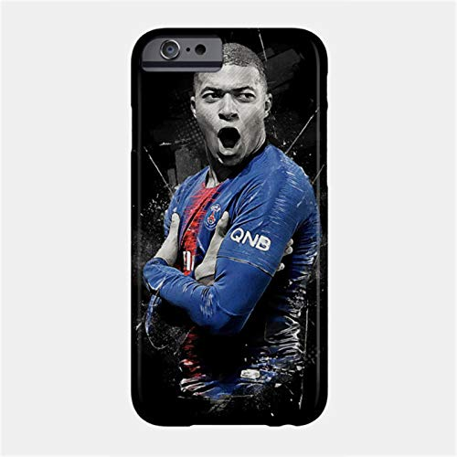PEWORWEY Case/Handyhülle/Hülle/Coque/Custodia/Carcasa/Cover/Shell,Mbappe DIY Phone Case for Samsung Galaxy S6Edge, Kylian-Mbappé,[M370-9034]