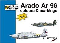 マーク1 アラドAr96 カラー & マーキング w/ 1/72デカール 写真 イラスト集 プラモデル用 MKMD72002