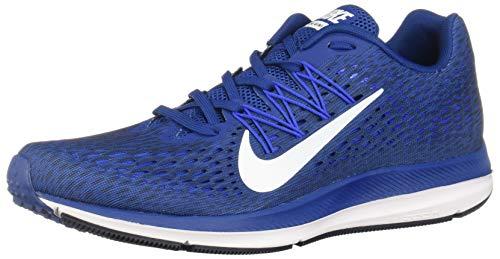 Nike Zoom Winflo 5, Zapatillas de Running para Hombre, Azul (Gym Blue/White/Obsidian/Hyper 400), 41 EU