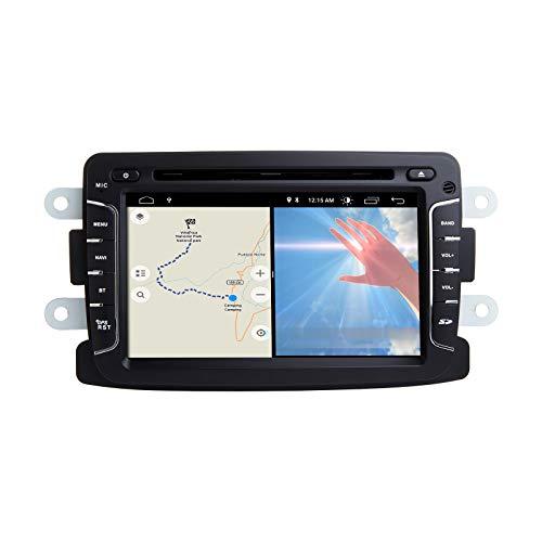 ZLTOOPAI Android 10 Autoradio für Renault Duster Dacia Logan Sandero Xray 2 Autoradio DVD Player Audio GPS mit DSP IPS Bildschirm WiFi OBD SWC