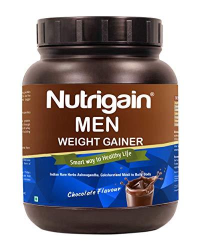 Nutrigain Men Weight Gainer Powder - 400 Gm (Chocolate Flavour)