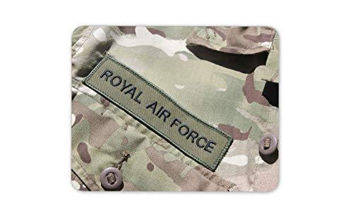 Alfombrilla Raton Doble Mousepad Mouse Mat Alfombrilla para ratón Royal Air Badge Alfombrilla para ratón - RAF Army Cool Shot 25 X 30 CM