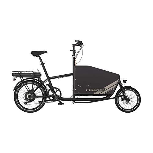 FISCHER E-Bike Leo 1.0 Lastenrad, Lastenfahrrad Elektro mit 90L Volumen, Cargo E-Bike, Cargo-Rad, 36 Volt, 522 Wh Akku