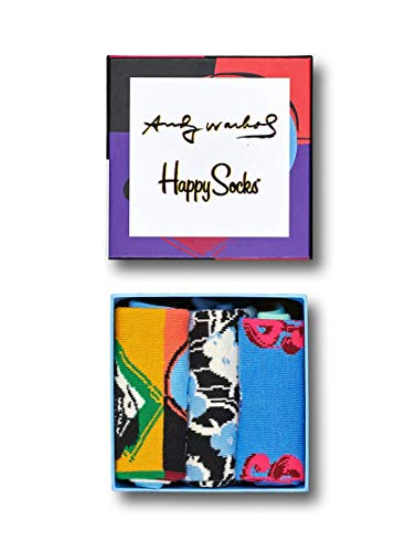 Happy Socks Geschenkbox ANDY WARHOL GIFT BOX XAWSKU08-9000 Mehrfarbig, Size:36-40